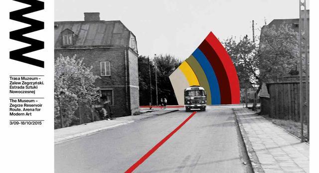 Z Muzeum Narodowego nad Zegrze - współczesna sztuka przy ulicy